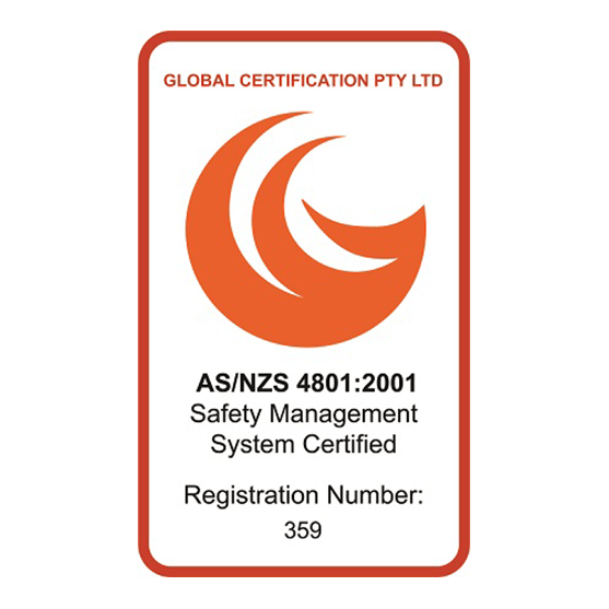 Safety AS/NZS 4801